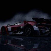 GT by Citroen Race Car RearUp