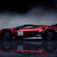 GT by Citroen Race Car SideLeft