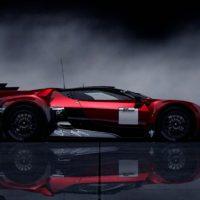 GT by Citroen Race Car SideRight