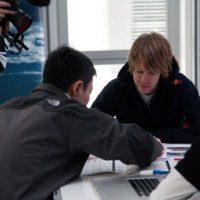Kazunori Yamauchi and Sebastian Vettel_1