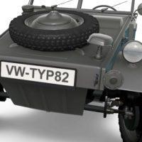 Volkswagen Kubelwagen typ82 '44 Detail02