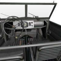 Volkswagen Kubelwagen typ82 '44 Interior01