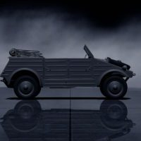Volkswagen Kubelwagen typ82 '44 SideRight