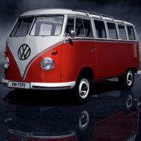 Volkswagen typ2(T1) SambaBus '62 73Front