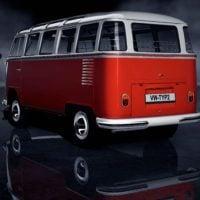 Volkswagen typ2(T1) SambaBus '62 73Rear