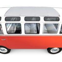 Volkswagen typ2(T1) SambaBus '62 Detail01