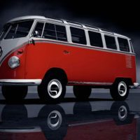 Volkswagen typ2(T1) SambaBus '62 FrontUp