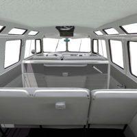 Volkswagen typ2(T1) SambaBus '62 Interior01