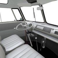 Volkswagen typ2(T1) SambaBus '62 Interior02