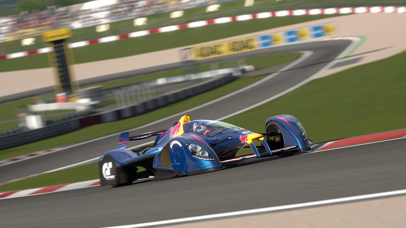 Red Bull X1: Vettel's GT5 Gameplay Video, Screenshots