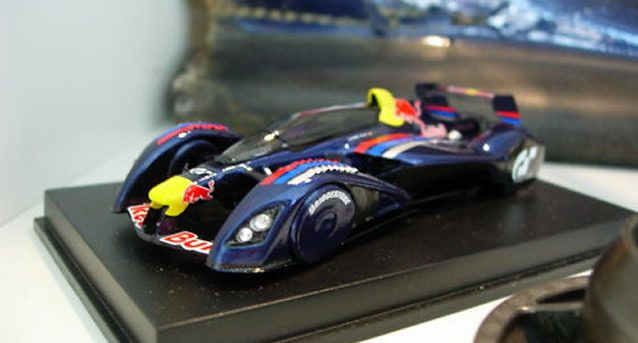 Red Bull X2010 Custom-Made Scale Model Hits eBay