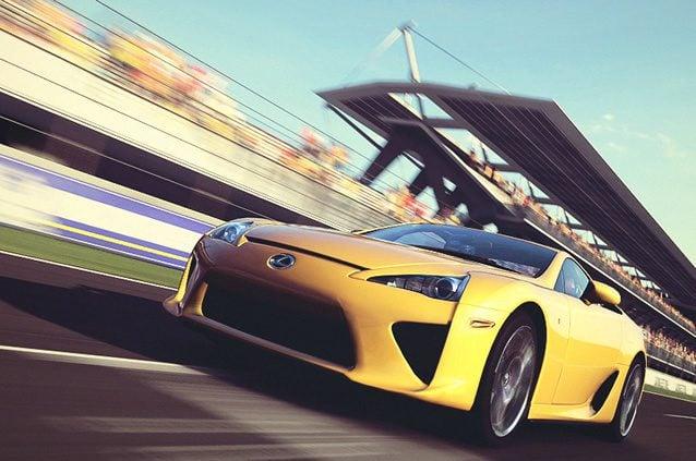 """Nuevo Gran Turismo 5 DLC aproximadamente """"Cada dos meses"""" Lexus-lfa-yellow"""