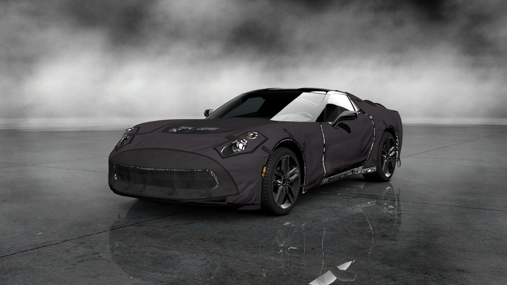 Corvette C7 Prototype In Gran Turismo 5 As Free Dlc Today