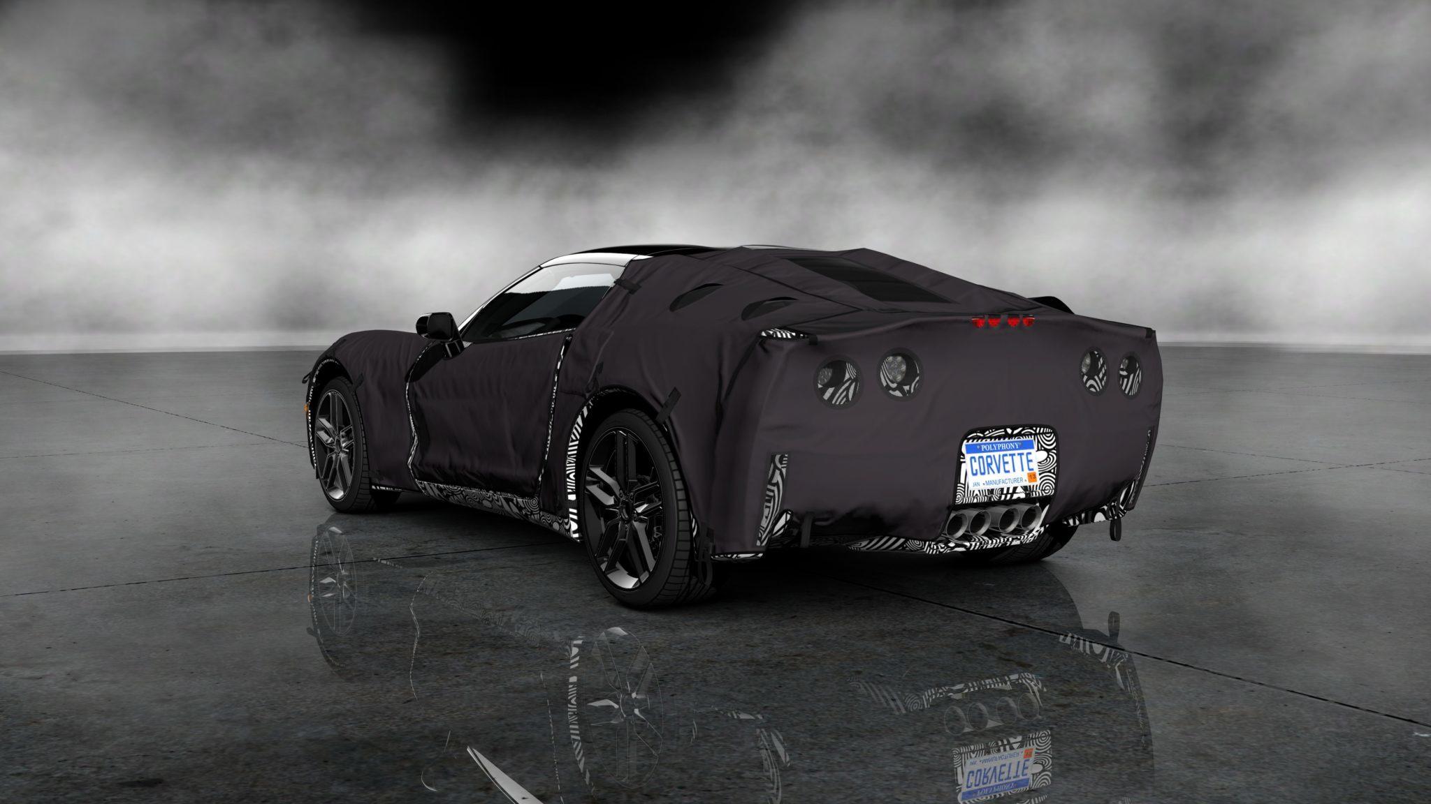Corvette C7 Prototype in Gran Turismo 5 as Free DLC Today