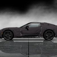 Corvette Stingray Test on Chevrolet Corvette C7 Test Prototype G    12 Sideleft