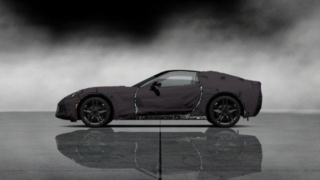 Chevrolet Corvette C7 Test Prototype GÄô12_SideLeft