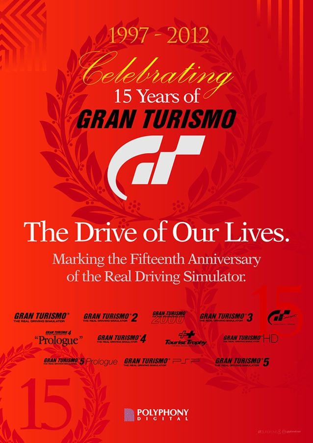 Celebrating 15 Years 15th Vow Renewal Anniversary Or: Celebrating 15 Years Of Gran Turismo