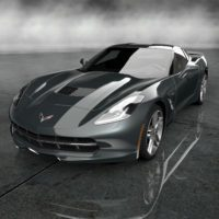 Chevrolet 2014 Corvette Stingray Final Prototype_001_Gray