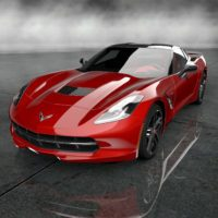 Chevrolet 2014 Corvette Stingray Final Prototype_001_Red