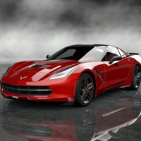 Chevrolet 2014 Corvette Stingray Final Prototype_73front_Red
