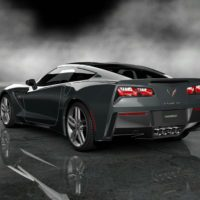 Chevrolet 2014 Corvette Stingray Final Prototype_73rear_Gray
