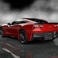 Chevrolet 2014 Corvette Stingray Final Prototype_73rear_Red