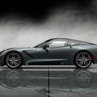 Chevrolet 2014 Corvette Stingray Final Prototype_Leftside_Grey