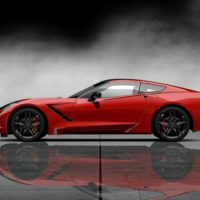 Chevrolet 2014 Corvette Stingray Final Prototype_Leftside_Red