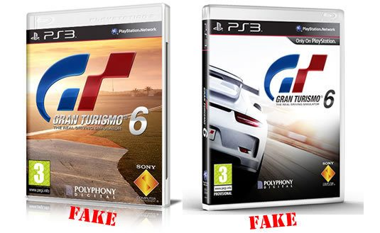 misleading gt6 release date box art floods the web. Black Bedroom Furniture Sets. Home Design Ideas