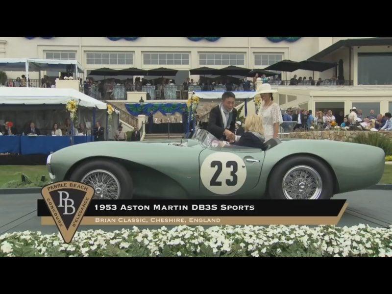Aston Martin Db3s Wins 2013 Gran Turismo Trophy