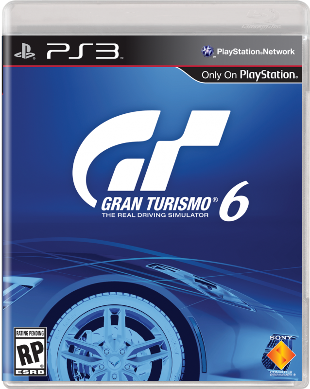 gran turismo 6 official box art revealed. Black Bedroom Furniture Sets. Home Design Ideas
