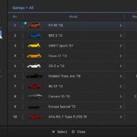 GT6 Menu garage02