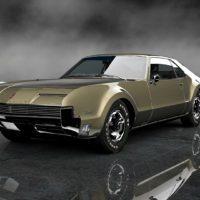 Jay_Leno_1966_Oldsmobile_Toronado_73Front