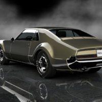 Jay_Leno_1966_Oldsmobile_Toronado_73Rear