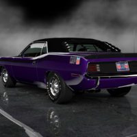 Plymouth_AAR_Cuda_340_Six_Barrel_70_73Rear