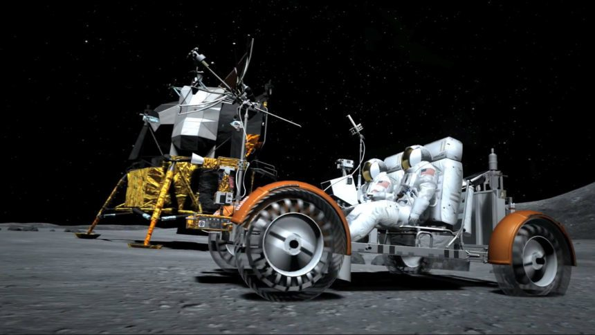 Apollo 15 S Lunar Roving Vehicle Featured In Gran Turismo 6
