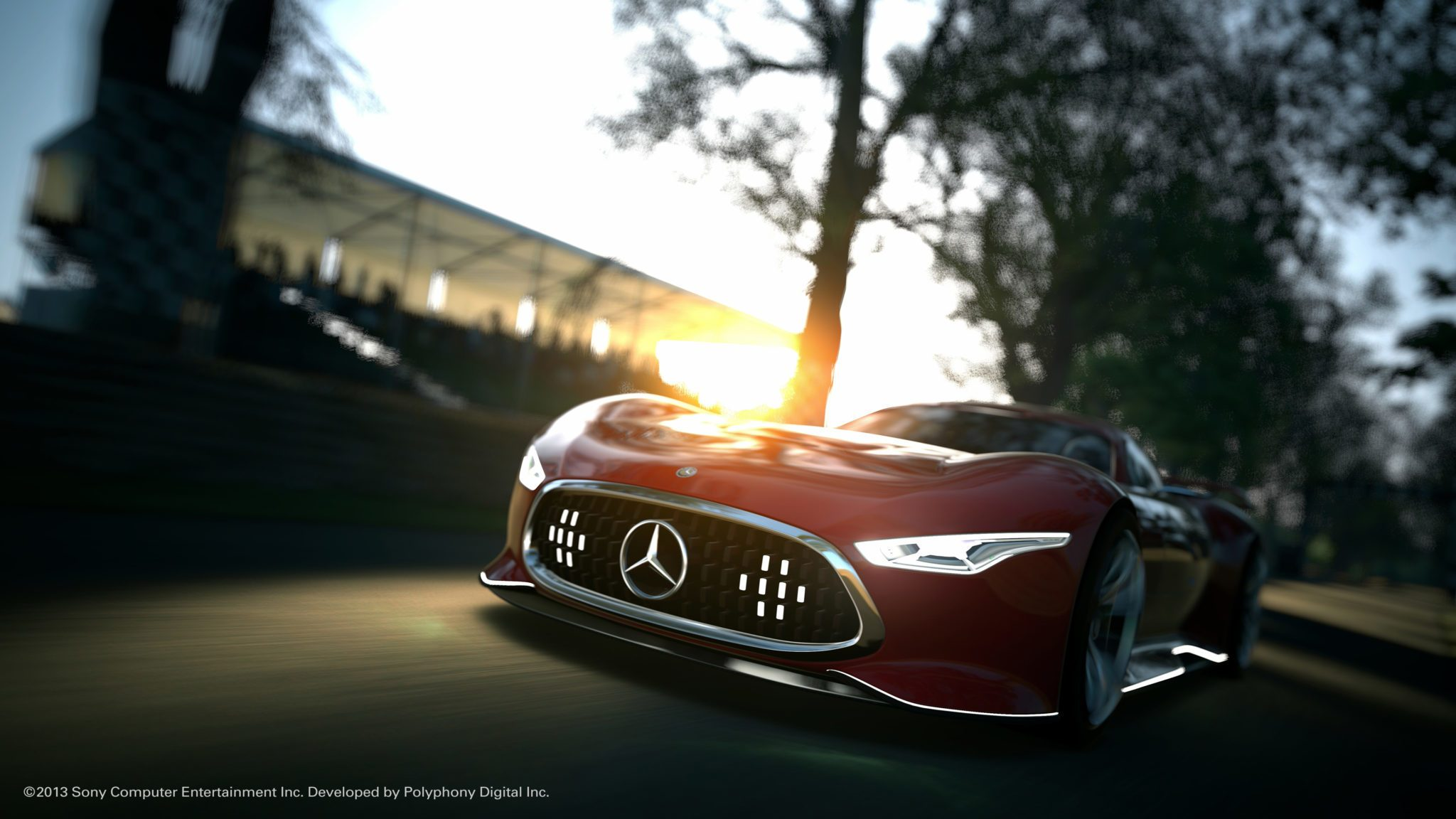 New gt6 trailer screenshots feature mercedes amg vision for Mercedes benz amg vision gt price