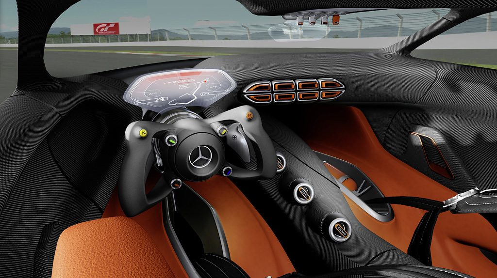 new gt6 trailer screenshots feature mercedes amg vision gran turismo concept car. Black Bedroom Furniture Sets. Home Design Ideas