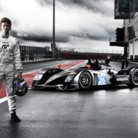 Lucas Ordonez and 2011 Nissan LMP2 car