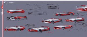 Alfa Romeo (a sketch for Vision Gran Turismo.)