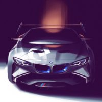 BMW (a sketch for Vision Gran Turismo.)