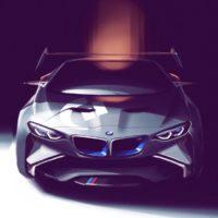 BMW (a sketch for Vision Gran Turismo.)