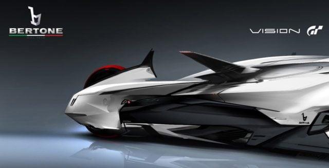 Bertone (a sketch for Vision Gran Turismo.)