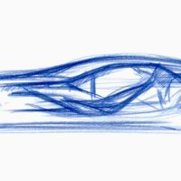 Italdesign Giugiaro (a sketch for Vision Gran Turismo.)
