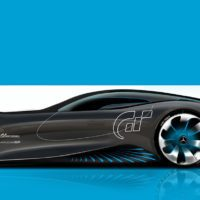 Mercedes-Benz (a sketch for Vision Gran Turismo.)