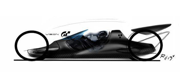 Nike (a sketch for Vision Gran Turismo.)