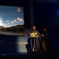 kazanori on stage gt6 launch
