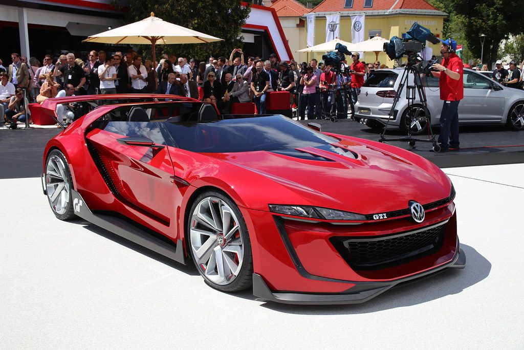Volkswagen Reveals Full Scale Vision Gt Car W 246 Rthersee