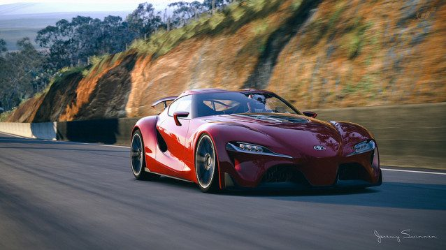 Toyota ft 1 Concept Production