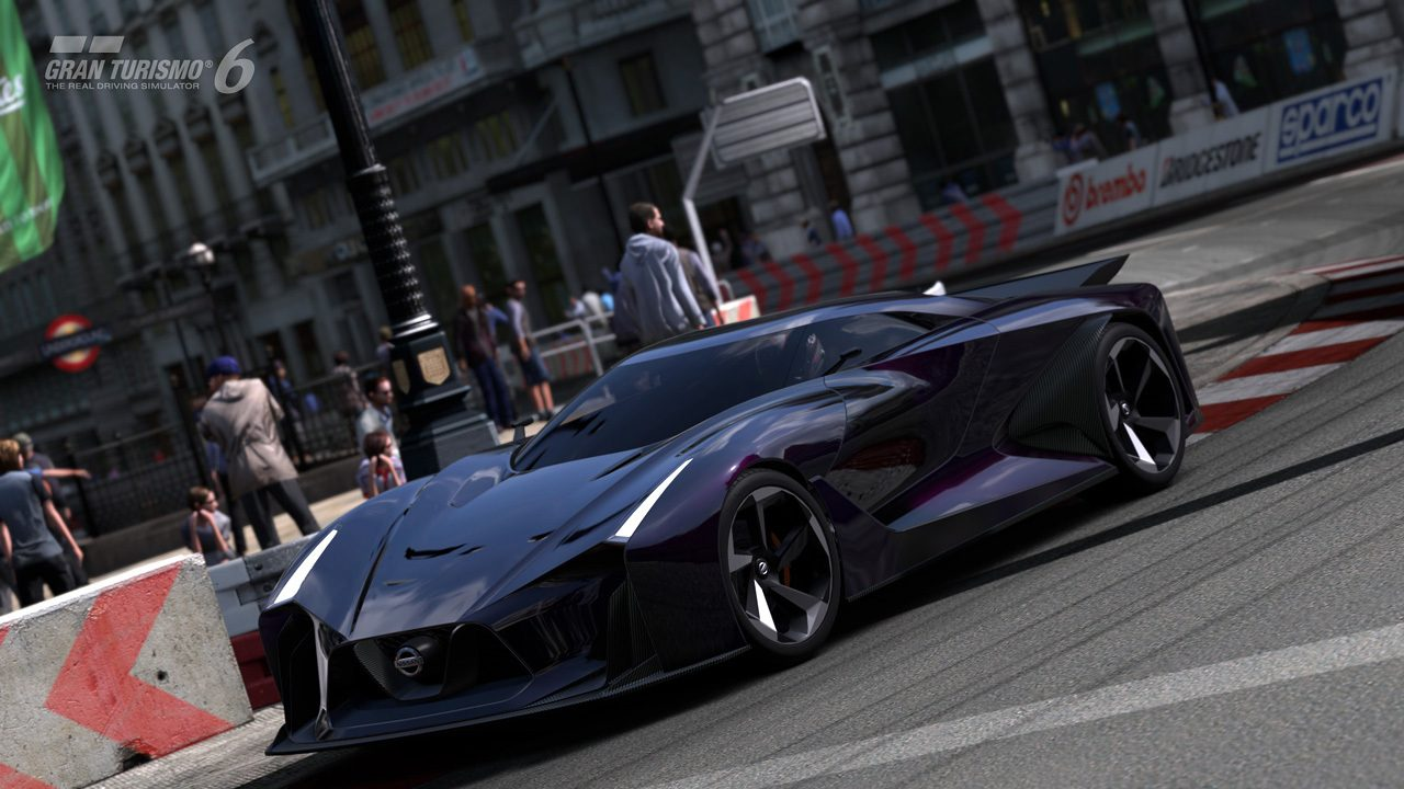 new video  screenshots of nissan concept 2020 in gt6